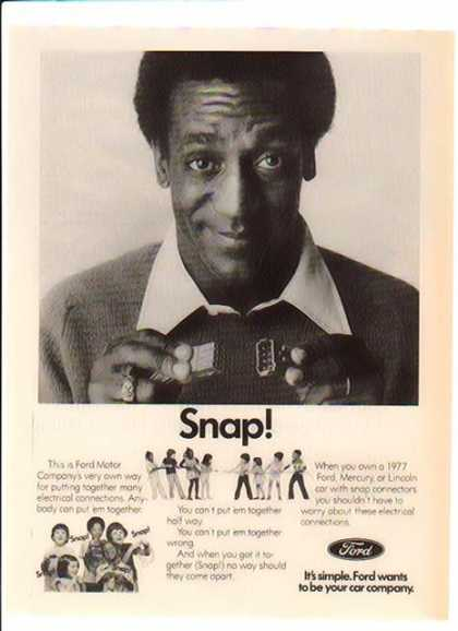 Bill Cosby – Ford – SNAP? (1977)