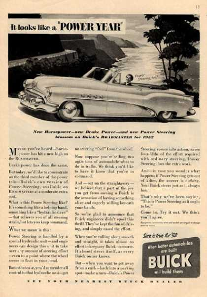 Buick Convertible Roadmaster (1952)