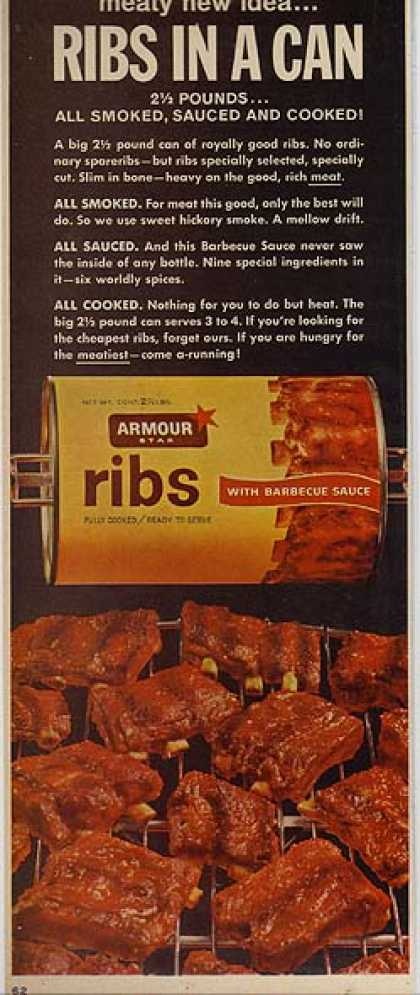 Armour's Ribs in a Can (1963)
