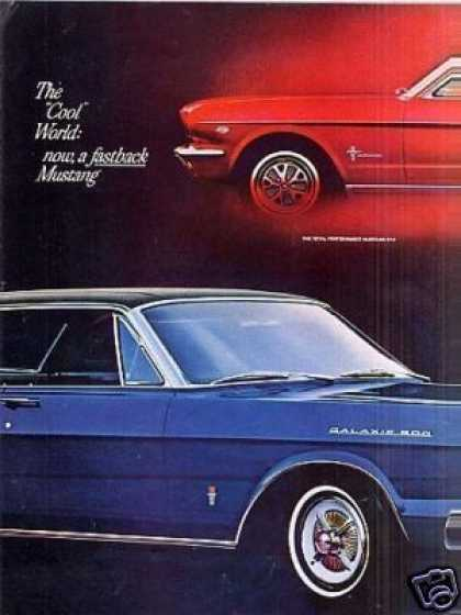 Ford Cars Ad 7 Page (1965)
