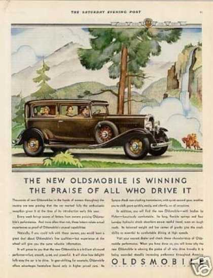 Oldsmobile Car Color (1931)