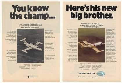 Gates Learjet 35/36 Jet Aircraft Big Brother 2P (1973)