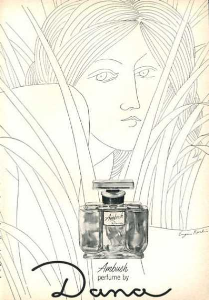 Dana Ambush Perfume Bottle Print (1966)