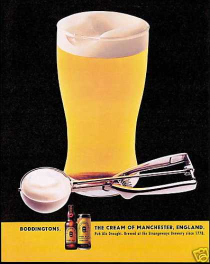 Boddingtons Pub Ale Draught Manchester England (1996)