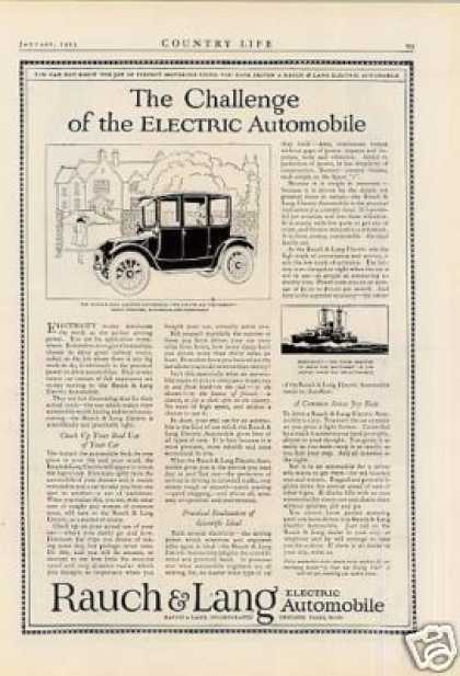 Rauch & Lang Electric Car (1923)