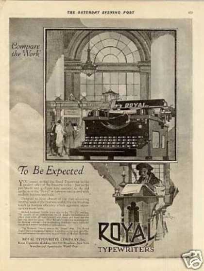 Royal Typewriter (1920)