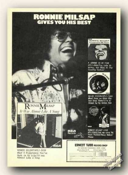 Ronnie Milsap Album Promo Music (1978)