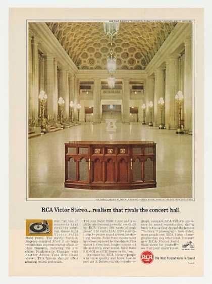 '65 RCA Mark I Stereo War Memorial Opera House Photo (1965)