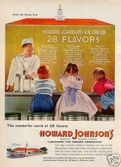Howard Johnson's Resturant (1955)