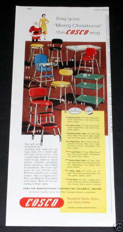 Cocso Kitchen Step Stools (1950)