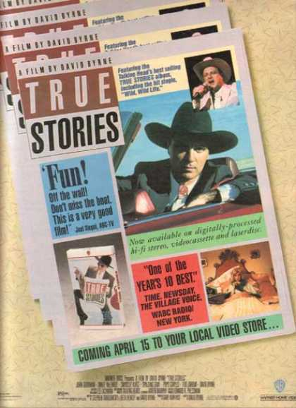 True Stories (David Byrne) (1987)