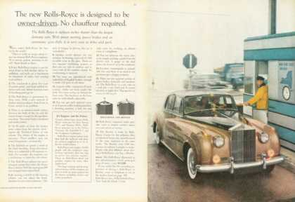 Rolls Royce Ad Owner Driven $13,550 (1958)