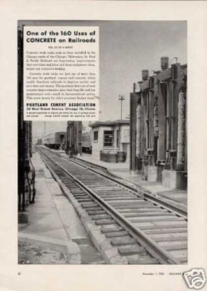 Portland Ad Milwaukee Road Wash Rack/chicago Yard (1954)