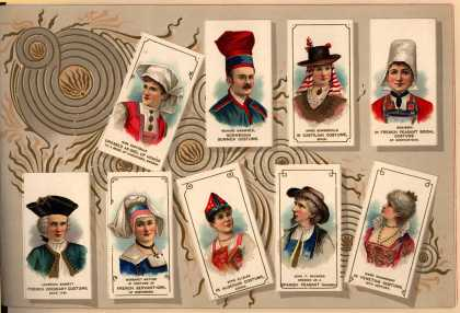 W. Duke Sons & Co. – Costumes of All Nations – Image 21 (1888)