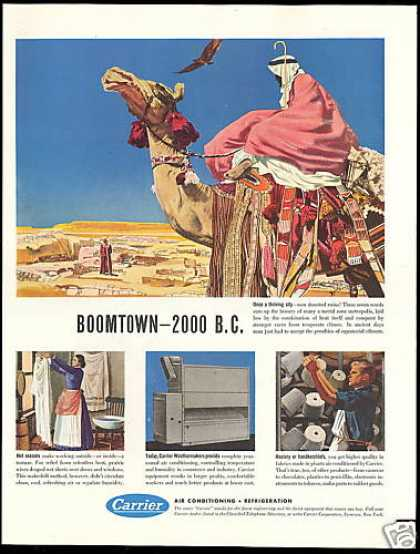 Carrier Air Conditioning Camel Desert Ruins (1949)