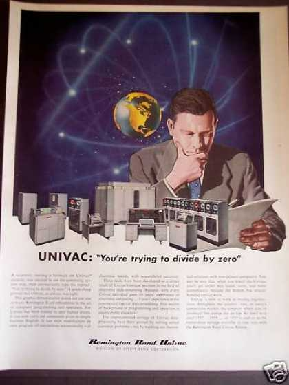Remington Rand Univac Data Processing (1956)