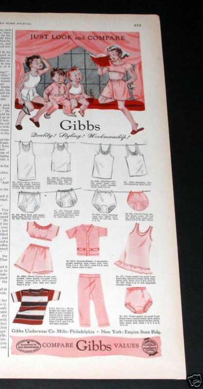 Gibbs Childrens Clothes, Value (1951)