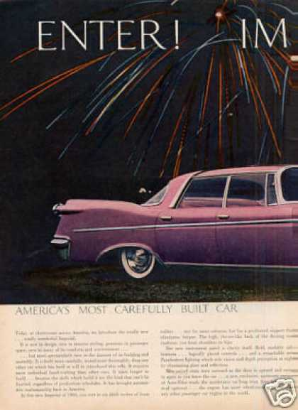 Chrysler Imperial Southampton Car Ad 2 Page (1960)