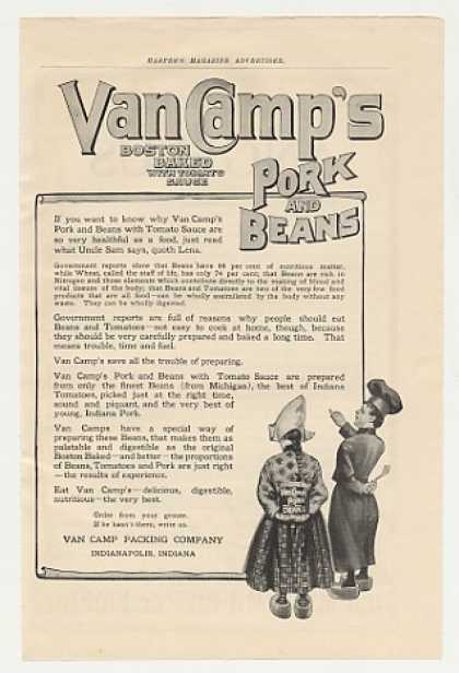 Van Camp's Pork and Beans (1905)