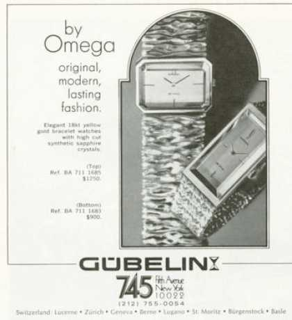 Gubelini Omega Watch (1972)