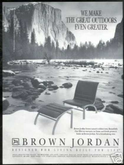 Brown Jordan Chair Furniture Photo (1989)