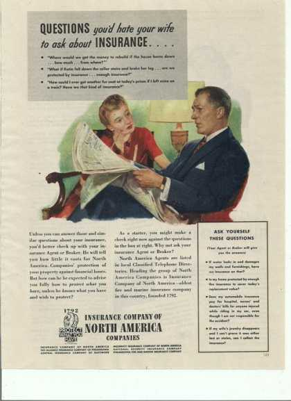 Insurance Company of North America Print A (1944)