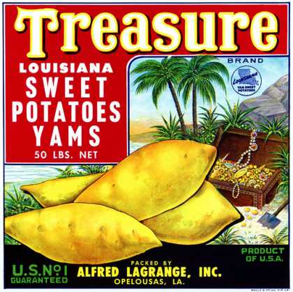 Treasure Louisiana Yams, c. s (1940)