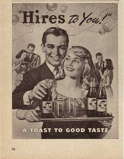 Hire's Root Beer (1947)