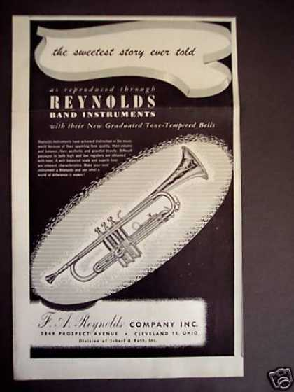 Reynolds Band Instruments Trumpet (1946)