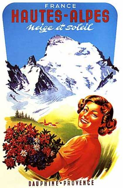 Haute-Alpes by R. Jacquet (1950)