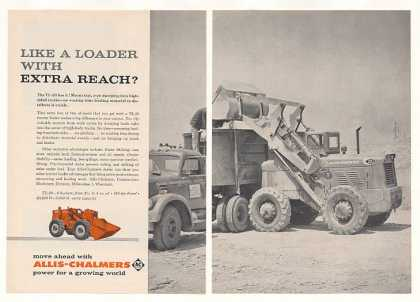 Allis-Chalmers TL-20 Tractor Loader 2-Page (1960)