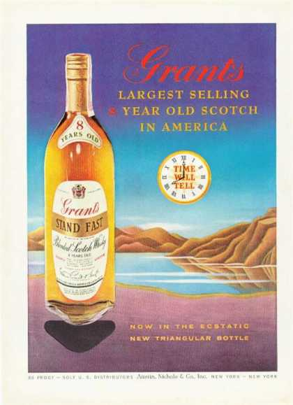 Grants Stand Fast Scotch Triangle (1959)