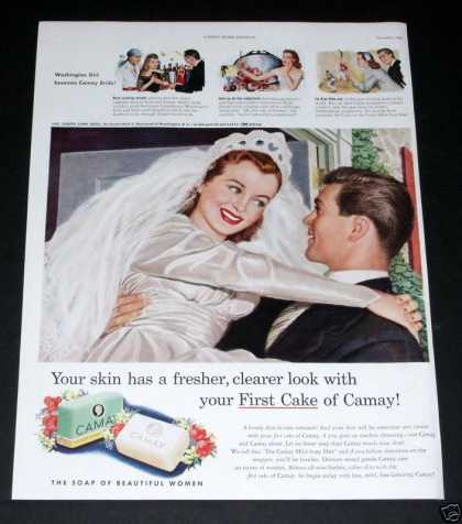 Camay Soap, Beautiful Bride (1949)