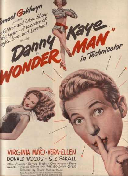Wonder Man (Danny Kaye and Virginia Mayo) (1945)