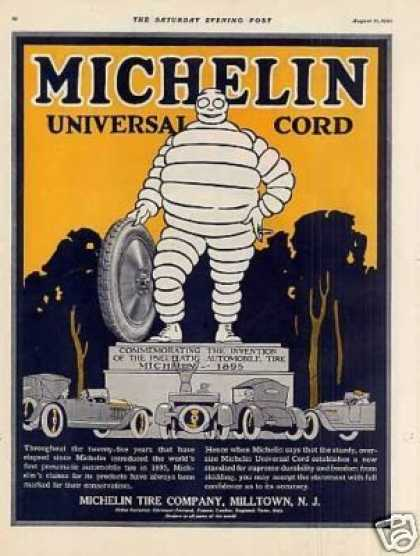 Michelin Tire Color (1920)