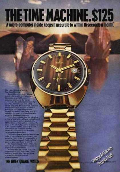 The Timex Quartz Watch Impressive (1972)