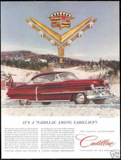Cadillac Golden Anniversary Car Photo (1952)