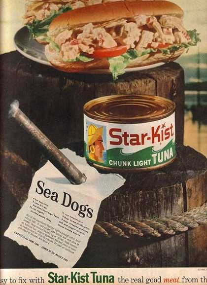 Star Kist's Chunk Light Tuna (1960)