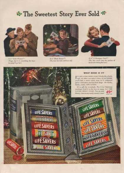 Sweestest Story Life Savers Candy (1941)