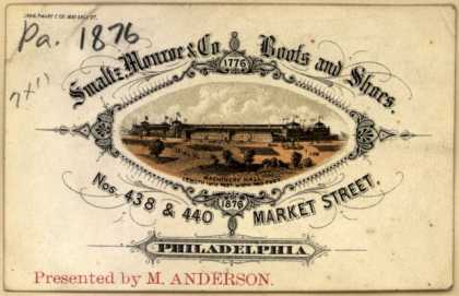 Smaltz, Monroe & Co.'s boots and shoes – Smaltz, Monroe & Co. Boots and Shoes (1876)