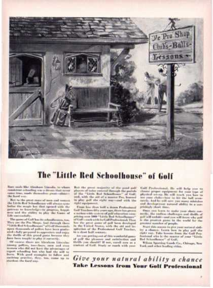 Little Red Schoolhouse of Pro Shop Golf (1940)