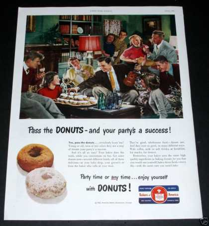 Bakers of America, Party Donuts (1950)