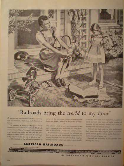 American Railroads Bring the world to my door (1946)