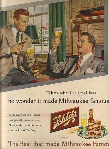 """The Beer that made Milwaukee Famous"" (1947)"