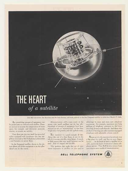 '59 Bell Transistor Solar Battery Vanguard Satellite (1959)