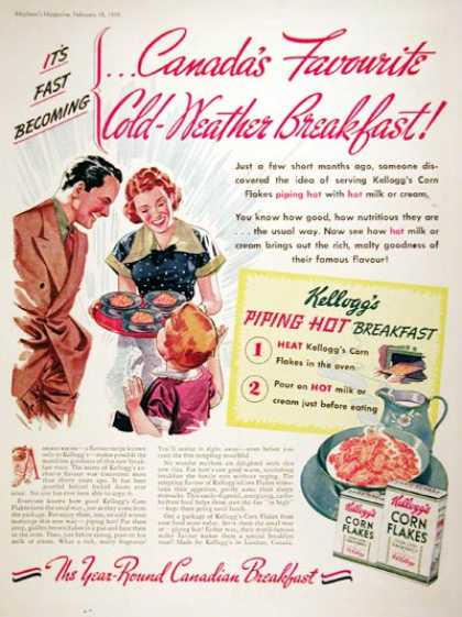 Kellogg&#8217;s Corn Flakes (1939)