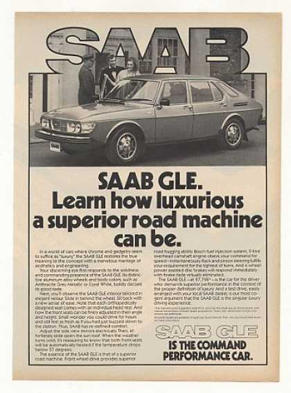 Saab GLE Luxurious Superior Road Machine (1978)