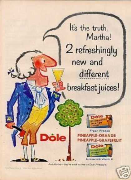 Dole Pineapple Juice (1958)