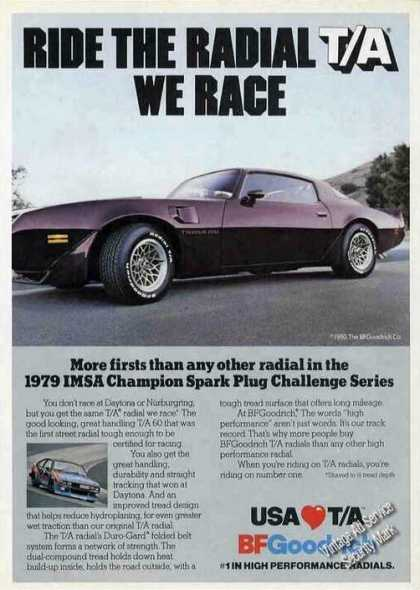 Pontiac Trans Am Photo B F Goodrich (1980)
