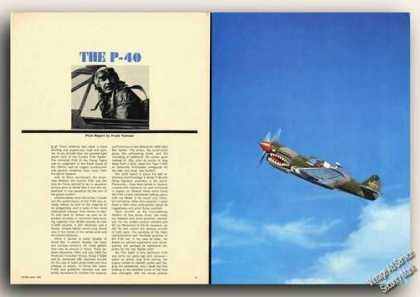 The P-40 Photo & Pilot Report Magazine Article (1965)